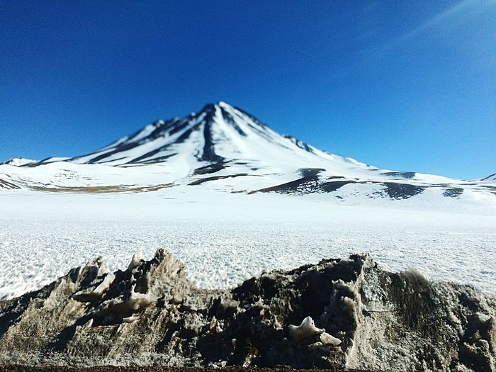 Volcano Snow Mountain Cold Temperature Outdoors Andes Mountain Range Nature Snowcapped Mountain EyeEmSnow Mountainin Beauty In Nature