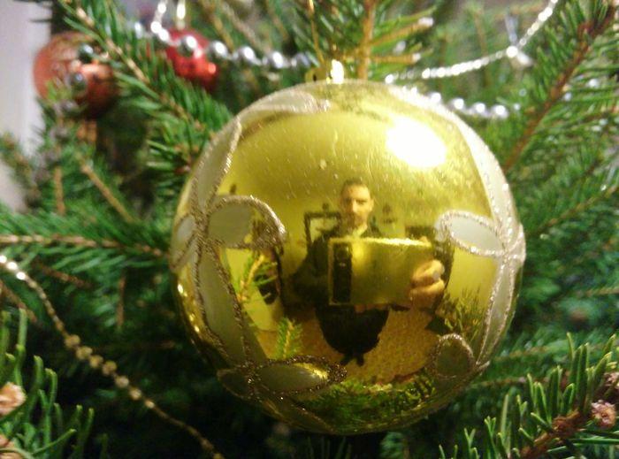 Christmas Christmas Tree Christmas Decoration Gold Colored