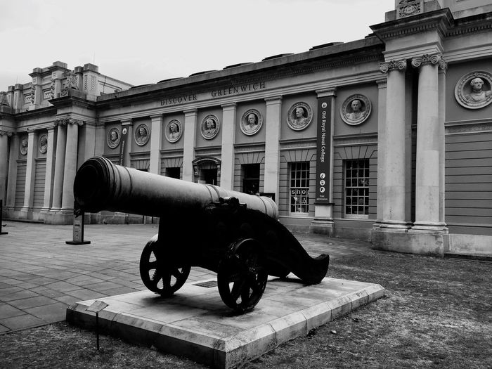 Greenwich Navel College, London Architecture Greenwich Greenwich Naval College London Museum Cannon