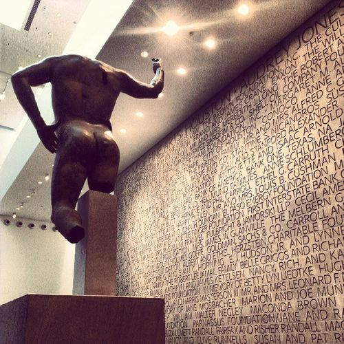 Art . Apparently it's a thing. :) MFAH