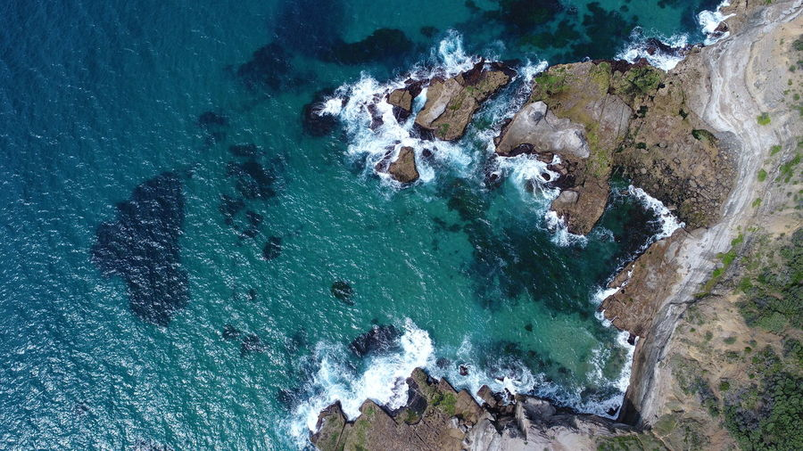 Sea from above near Stanwell Tops, NSW, Australia Water Beauty In Nature Sea Scenics - Nature Rock Nature No People Day High Angle View Rock - Object Beach Solid Tranquil Scene Tranquility Land Rock Formation Idyllic Motion Outdoors Turquoise Colored Power In Nature Aerial View Aerial Aerial Photography Aerial Shot Aerial Landscape Dji DJI Mavic Pro DJI X Eyeem Dji Phantom