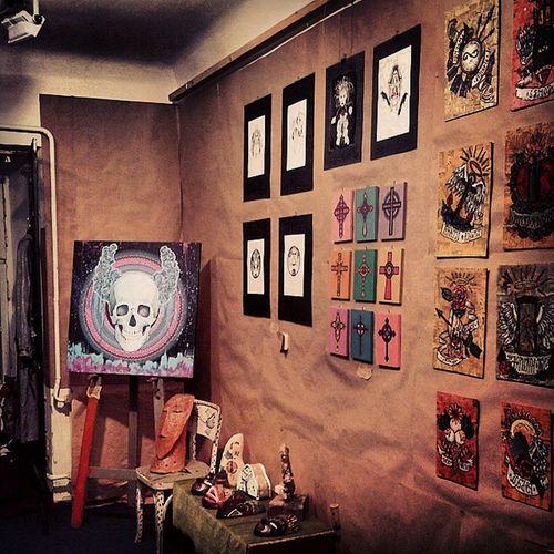 Art Skull Gothic Gallery Lviv pravdaB правдаБ галерея череп