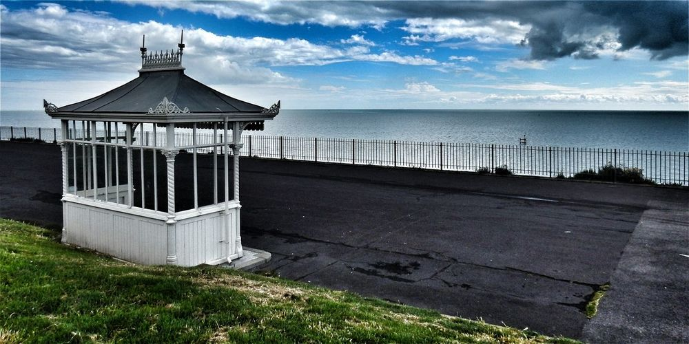 Fine Art Photography Beach Shelter Ramsgate Hanging Out Taking Photos Check This Out Hello World Relaxing Enjoying Life Best EyeEm Shot Bestoftheday Modern Art Amazing Beautiful Magical Today's Hot Look Sky And Clouds