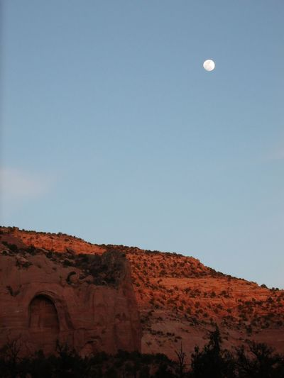 Moon Night Clear Sky Travel Destinations Sky Astronomy Nature Landscape Beauty In Nature No People Outdoors Utah Canyon Of The Ancients EyeEm Nature Lover