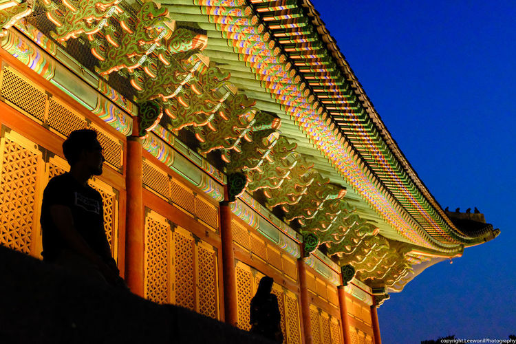 don't leave me alone - Deoksugung place in Seoul downtown Dancheong Deoksugung Deoksugung Palace Korean Traditional Palace Korean Palace Korean Traditional Architecture Night Photography Tourist Attraction  Architecture Built Structure Hanok Illuminated Korean Beauty Korean Palace Leave Me Alone Leave Me Here Low Angle View Night Night In Korea Night In Seoul Oriental Palace Palace In Seoul Tourist Destination Traditional Multicolored Paintwork Travel Destinations