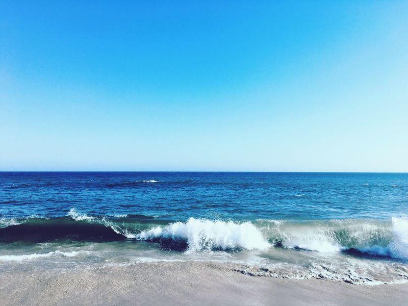Ocean inside of me Clear Sky Wave Beach