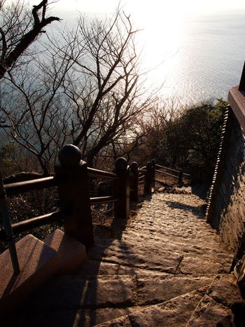 Yeosu Hyangilam Temple Sunrise Sunshine Nature Landscape Olympus E-P3 14-54mm II Traveling