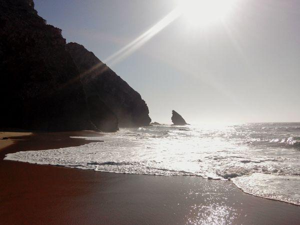 Praia Da Adraga Adraga Beach BeachSilhouette Beachphotography On The Beach Beach Time BeachSunset Sea Silhouette