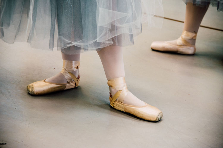 Directions Ballerina Ballet Dancer Dancers Dancing Dancing Around The World Feet Girls Pointe Shoes Rehearsal Shoes The Nutcracker Ballet Tutu Two People Women