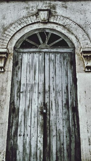 Old door Blackandwhite Photography Abstract Houses And Windows Walldecoration Old Buildings Thailand Old House