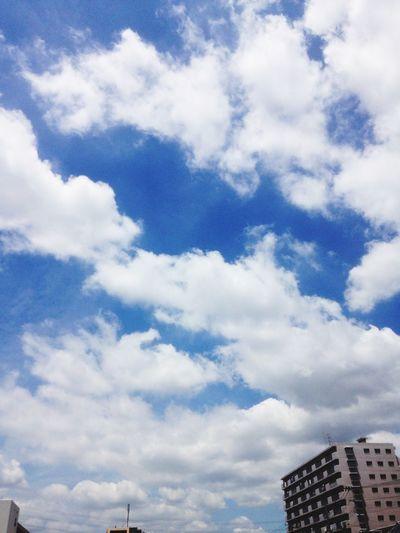 梅雨の晴れ間 Hello World Earysummer Sky Collection My Hometown