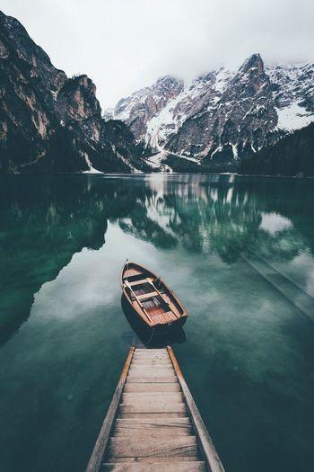 Lake Boat Water
