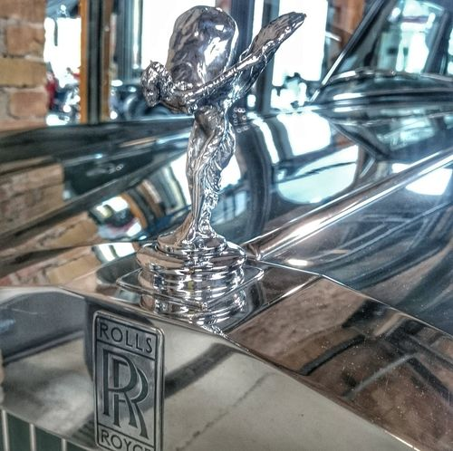 Spirit Spirit Of Ecstasy Rolls Royce Oldtimer Car Automobile Automotive Meilenwerk Berlin Chrome Alt