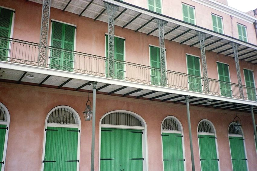 Architecture Building Exterior Window Built Structure Outdoors No People Low Angle View Day Balcony New Orleans New Orleans Life Digital Composite Old Camera Eyem Market Storefront Photographer New Orleans, LA New Orleans EyeEm Architecture Cityscape City Travel Destinations