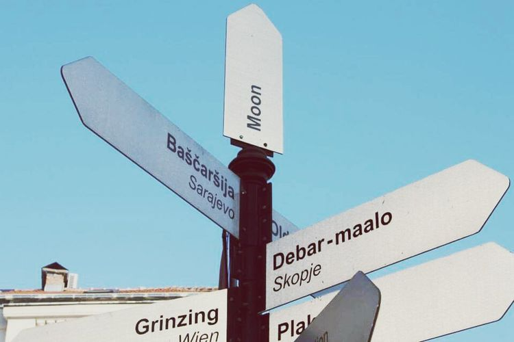 Feel The Journey Belgrade,Serbia Journeyphotography Choose Your Way Perspective Options Unlimited Sign Path