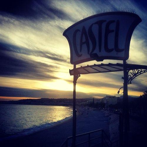 I love a good Sunset Nice France