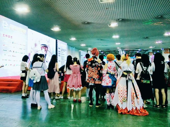 Hi! Taking Photos Cosplay 日本の歌ってみた、歌い手、ゆう十さん Weekend Activities The Week Of Eyeem Anime Animelover Animegirl Color Of Life EyeEm Best Edits Festival Season Hello People People Together Eyeemphoto