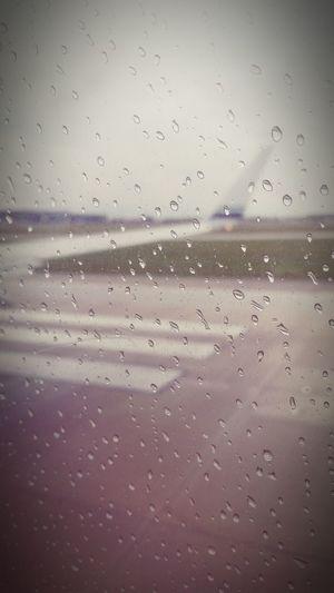 From An Airplane Window Trip Oregon Airplane Airport Rain Dallas Tx