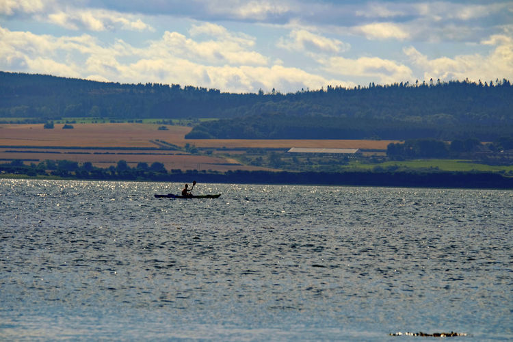 Seascape Northumberland Lindisfarne Canoeing Outdoors