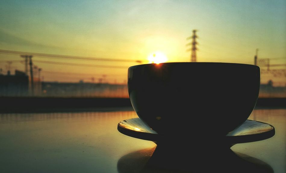 Japan Photos Sunrise TeaCup Sun Sunshine Sunpark Morning Silhouette Light And Shadow Traveling From My Point Of View Taking Photos Showcase March Streamzoofamily Q Ultimate Japan 43 Golden Moments Feel The Journey