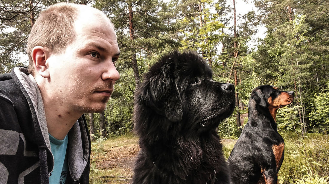Me and the dogs ©️JaniVauhkonen (Shoot whit LGG4 frontcamera) Young Adult One Person Portrait Day Outdoors Young Men Headshot Adults Only Only Men Real People People Adult One Man Only Nature Close-up Mammal JaniVauhkonen Best Shots EyeEm LG G4 Frontcamera Frontcameraquality Frontcameraselfie