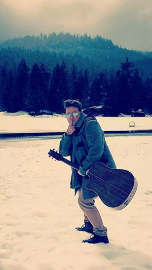 Sam Burrell in Canada People Musician Snow Music