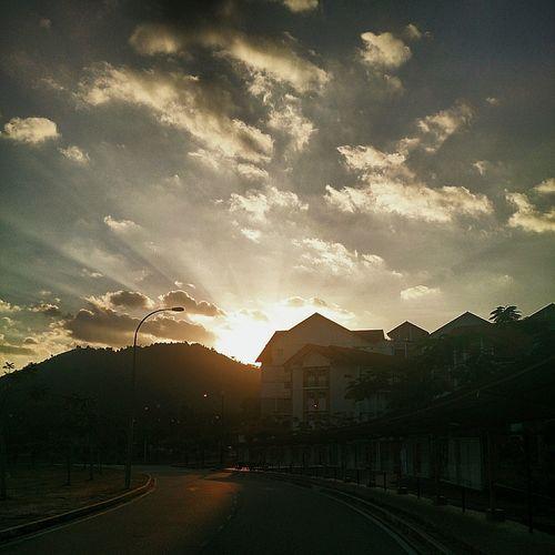 Sunshine Sunset Sky And Clouds Sunset_collection Sunlight Sundown Newbie Follow4follow