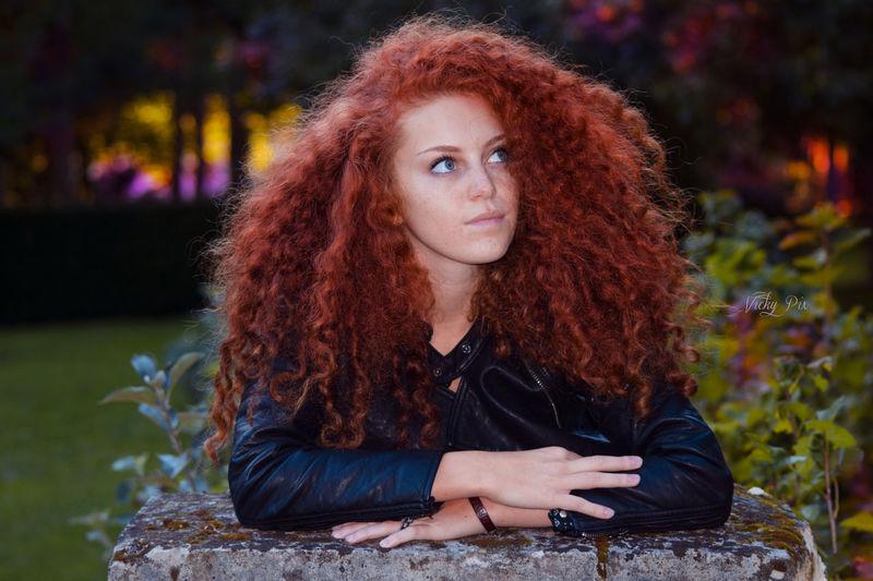 Modelphotography Beauty Curly Hair Modelhair Rousse Photoshoot Shooting Photos Vicky Pix