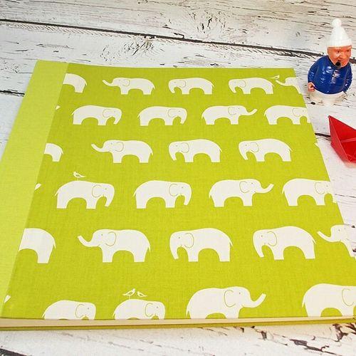Babyshower Scatoli Christening Photo Photograpy Fotos Fotoalben Birch Fabrics Light Green