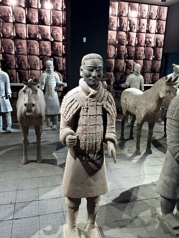 Ancient Artifact Buddhist Casual Clothing Chinese Day History Leisure Activity Lifestyles Mammal Outdoors Portrait Pottery Statue Temple Terra-cotta Treasure Warrior