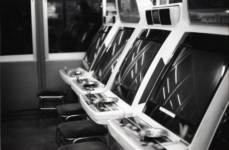 Blackandwhite City Life EyeEm EyeEm Best Shots Focus On Foreground Game Modern Monochrome No People Reflection Remember Retro