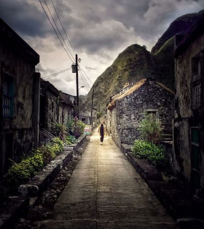 Batanes Real People Architecture Built Structure Outdoors Beauty In Nature