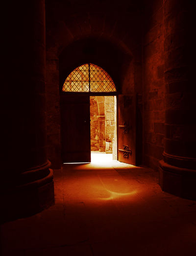 OLD DOORWAY Abbey Architecture Building Doorway Entrance Light And Shadow Opening Stone Wall