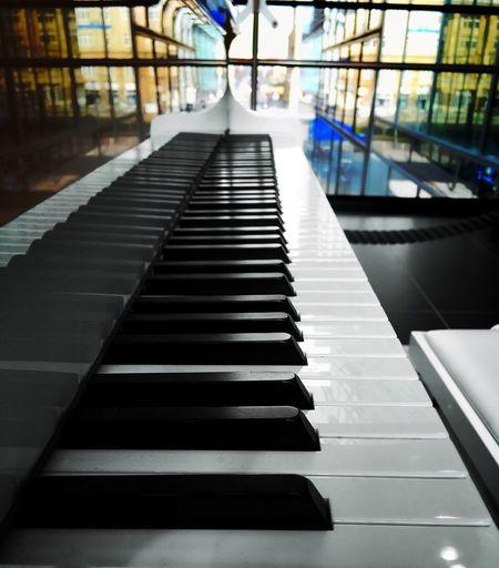 Piano Piano Keys Piano Time Music Colours Black & White