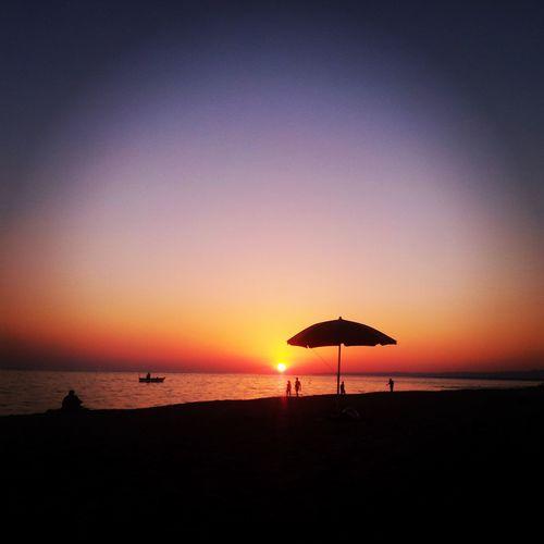 Sun Sunset Beach Amazing