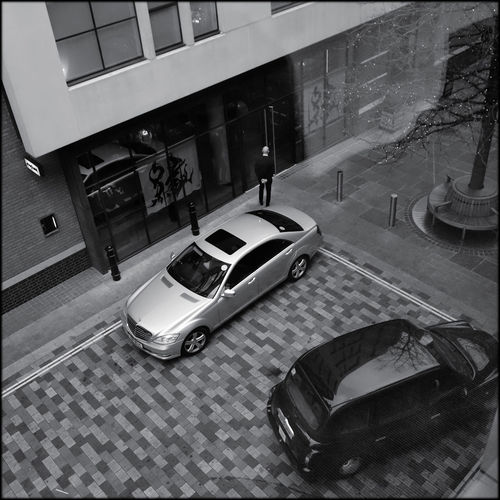 Car Control London Hotel Mode Of Transport One Person Parked Private Hire Prostitute Stationary Taxi