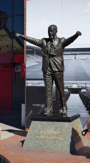 Anfield Bill Shankly Liverpool Legend Liverpoolfc Statue YNWA