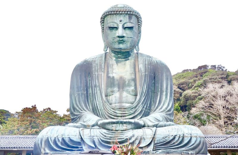 Japanese big buddha statue in Japan. Japanese  Traditional Japanese  Japanese Culture Japanese Temple Temple Statue Buddha Statues Buddha Head Buddha Head Buddha Art Historic Spirituality Steeple Cross Buddhism Mosque Idol Place Of Worship Male Likeness Catholicism Temple - Building Cathedral Church Christianity Civilization Buddha