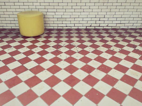 Belgium Genk Mining Heritage Tiled Floor