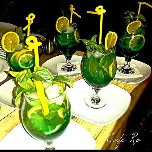 Cafe Gallery Karaj Gohardasht Cafe Ro Mojito Cold Beverages Summer Hot Day