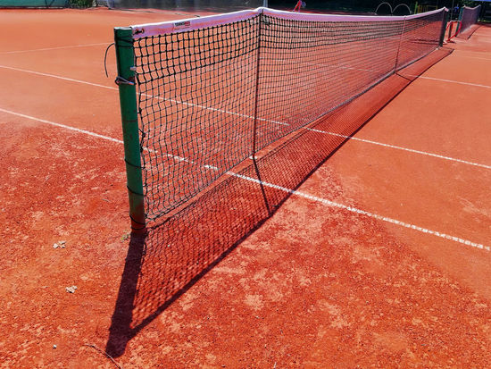 Net. Shadow And Light Absence Brown Competition Competitive Sport Court Day Eyeem Sport High Angle View Nature Net Net - Sports Equipment No People Outdoors Playing Field Shadow Sport Sports Track Sunlight Tennis Tennis Court Tennis Net Track And Field Yard Line - Sport