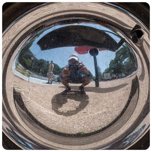 Hubcap_selfie are staring to become a bit of a signature for yours truly.... Austin Texas USA The_walk