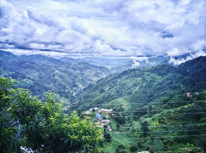 Adventure Club Adventure Time! Adventure Photography Nature Hills And Valleys Clouds And Sky Green Green Green!  Fresh On Eyeem  Cool Day Yureka Heaven Nepal