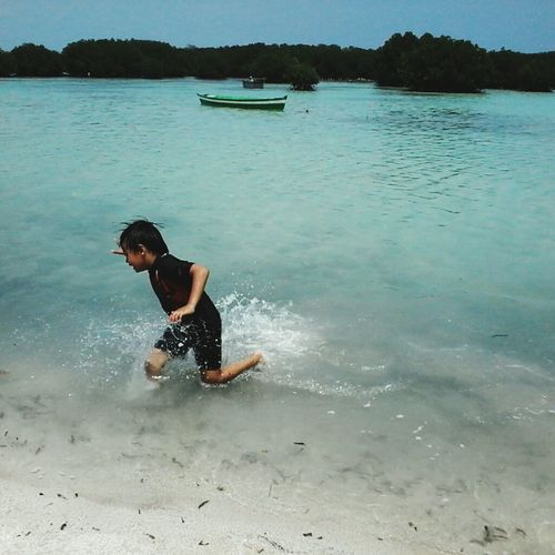 Enjooooyyy Beach Sand Vacations Leisure Activity Pulaupari Pariisland Pulauseribu ThousandIslands