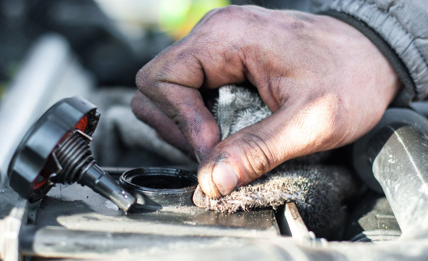 Mechanic Close-up Dirt Hands Finger Hand Holding Human Body Part Human Hand Men Occupation Skill  Work Tool Working