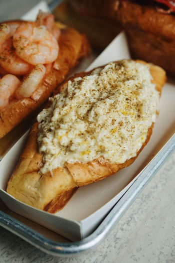Crab Roll Bread