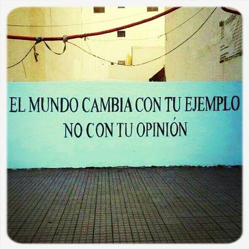 Bien dicho! Think