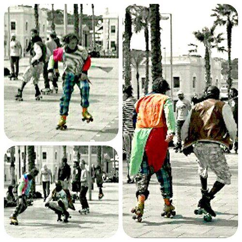 Dancing on skates... Street_life EyeEm Best Shots Eyemcatalunya La Barceloneta
