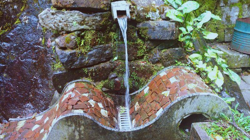 No People Day Water Poços De Calda Fonte Agua Rochas