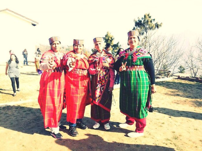 Holiday Trip to Kulu Manali... Posing in their native attire RePicture Style Having Fun :) EyeEm Colorful! Holiday Trip
